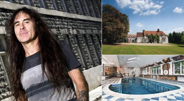 Iron-Maiden-Steve-Harris-Mansion